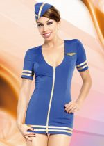 Stewardess, blue S/M