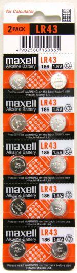 Maxell LR 43 10pcs