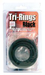 TRI-RING BLACK