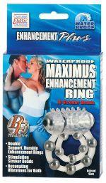 MAXIMUS RING 10 STROKE BEADS VIBR.
