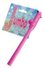 Jumbo Pecker Straw Pink