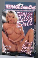 TEENAGE LOLITA DOLL BLOND HAIR